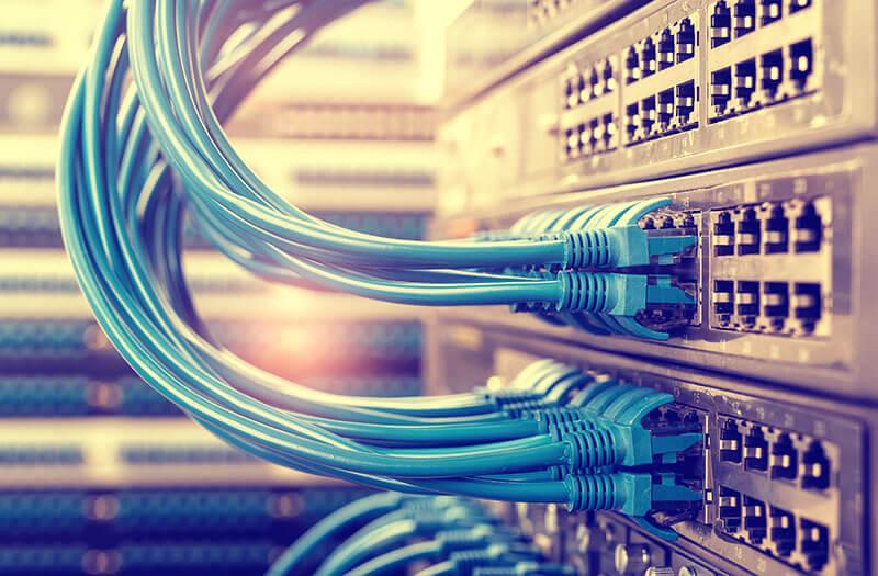 KPN netwerk kabels